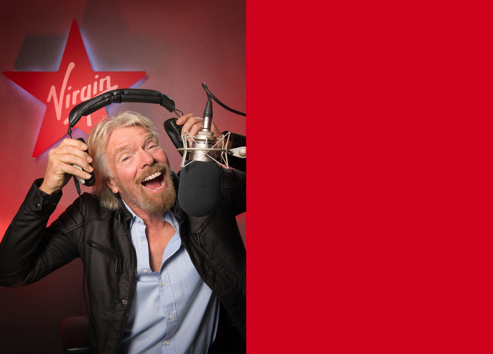 Richrd Branson Virgin radio